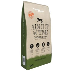 Buum24 koerte kuivtoit Adult Active Chicken & Fish 15 kg