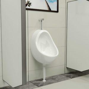 Buum24 seinale kinnitatav pissuaar, keraamiline, valge