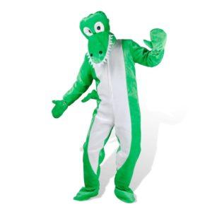 Krokodillikostüüm M-L