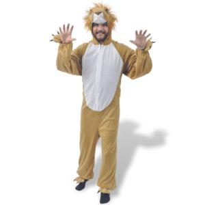 vidaXLi karnevalikostüüm lõvi M-L