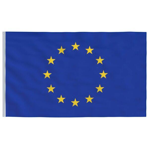 Buum24 Euroopa Liidu lipp ja lipumast, alumiinium, 6,2 m
